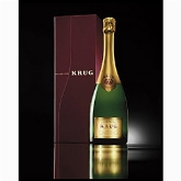 Krug champagne Grande Cuvee 75cl in giftbox